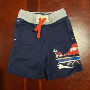 Mini Boden 3T Rescue Dog Shorts